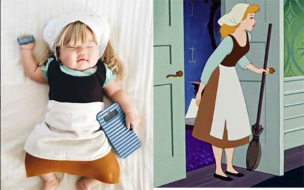 Bé gái 4 tháng tuổi nổi tiếng vì đóng giả nhân vật phim lúc ngủ - Ảnh 11