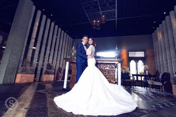 Chụp ảnh cưới trên tòa nhà cao nhất Sài Gòn với áo cưới Solivian - Ảnh 8