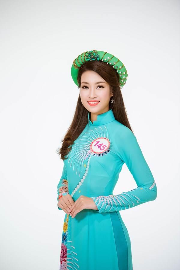 Cận cảnh nhan sắc tân Hoa hậu Việt Nam 2016 Đỗ Mỹ Linh - Ảnh 1