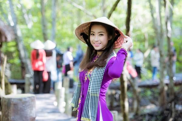 Cận cảnh nhan sắc tân Hoa hậu Việt Nam 2016 Đỗ Mỹ Linh - Ảnh 3