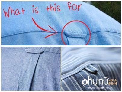 Mặc sơ mi cả đời nhưng 99% người không biết công dụng của thứ này trên lưng áo - Ảnh 1