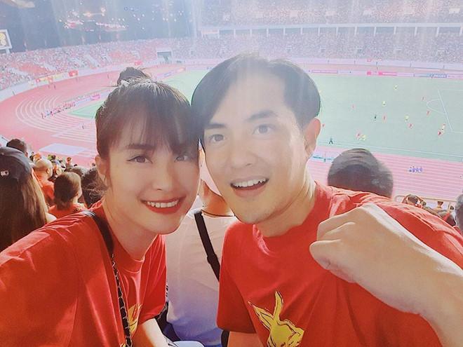 Bảo Anh và dàn sao Việt phấn khích trước bàn thắng của Quang Hải - Ảnh 2