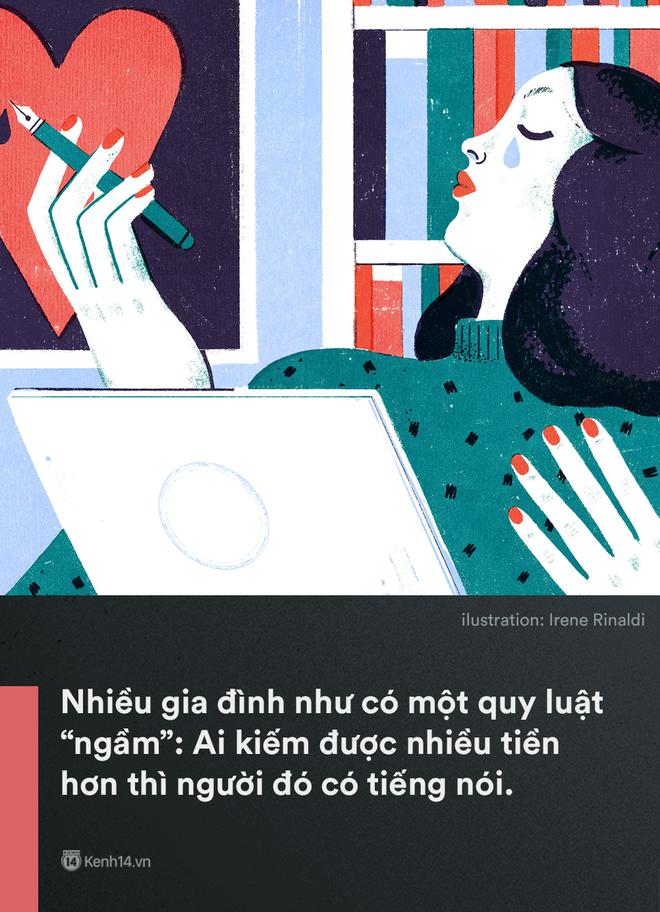 'Kiếm ít tiền hơn vợ': Một câu nói mà gợi nỗi buồn của không biết bao nhiêu ông chồng Việt - Ảnh 1