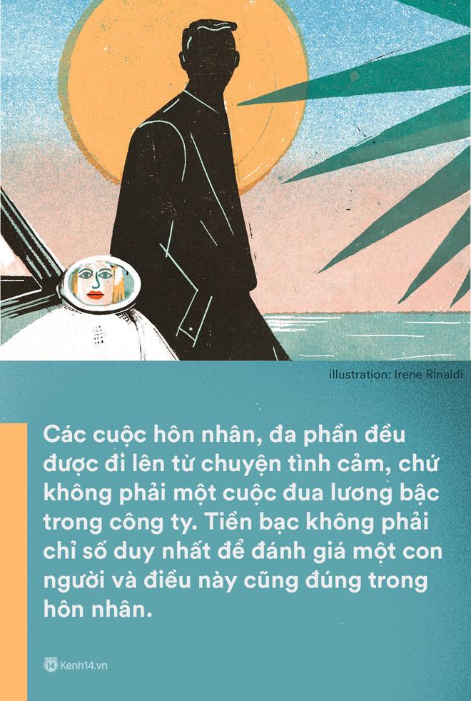 'Kiếm ít tiền hơn vợ': Một câu nói mà gợi nỗi buồn của không biết bao nhiêu ông chồng Việt - Ảnh 3