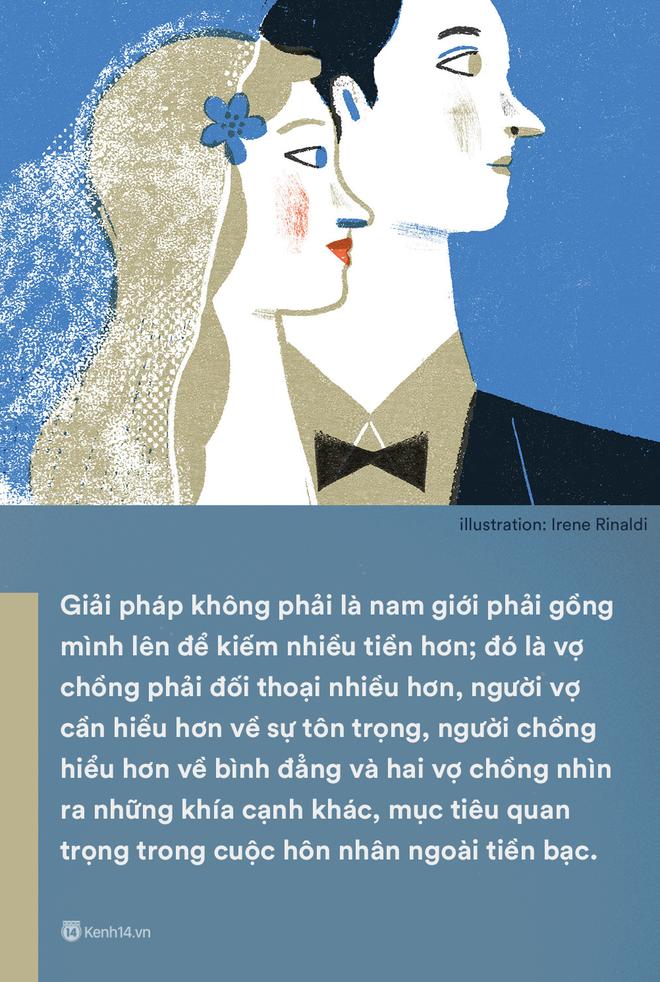 'Kiếm ít tiền hơn vợ': Một câu nói mà gợi nỗi buồn của không biết bao nhiêu ông chồng Việt - Ảnh 4