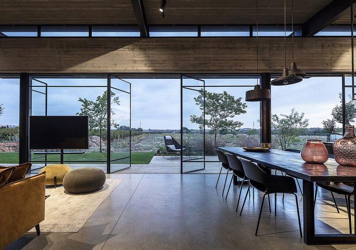 Ngôi nhà nằm giữa vùng quê yên bình với nét thiết kế cởi mở và hiện đại - Ảnh 3