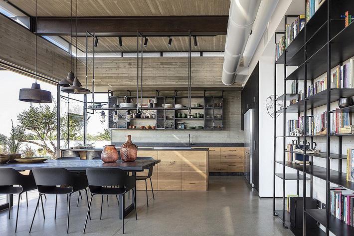 Ngôi nhà nằm giữa vùng quê yên bình với nét thiết kế cởi mở và hiện đại - Ảnh 4