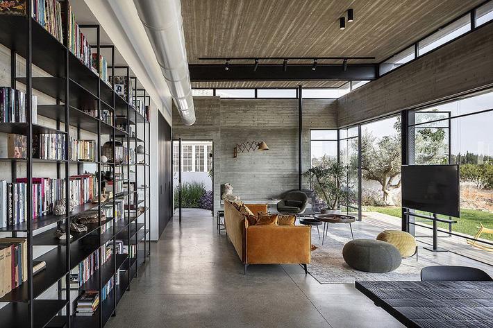Ngôi nhà nằm giữa vùng quê yên bình với nét thiết kế cởi mở và hiện đại - Ảnh 5