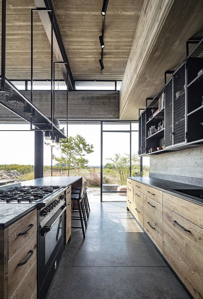 Ngôi nhà nằm giữa vùng quê yên bình với nét thiết kế cởi mở và hiện đại - Ảnh 6