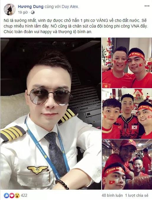Bất ngờ cơ trưởng lái chiếc máy bay chở toàn đội tuyển quốc gia từ Philippines về nước - Ảnh 1