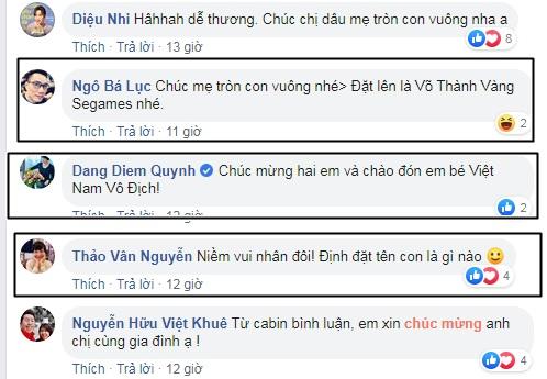 Vợ đi đẻ ngày U22 Việt Nam giành HCV SEA Games, MC Thành Trung 'quẩy' tại bệnh viện, sao Việt đua nhau đặt tên cho em bé - Ảnh 7