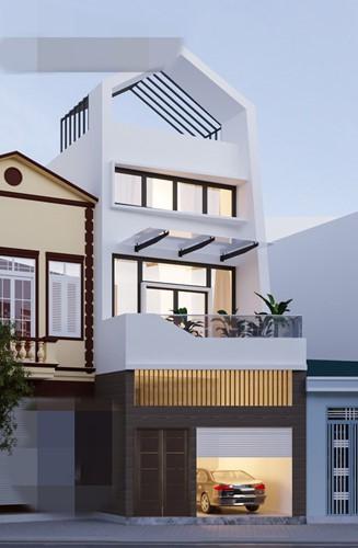 10 mẫu nhà phố 3 tầng 1 tum độc đáo nhất 2019 - Ảnh 8