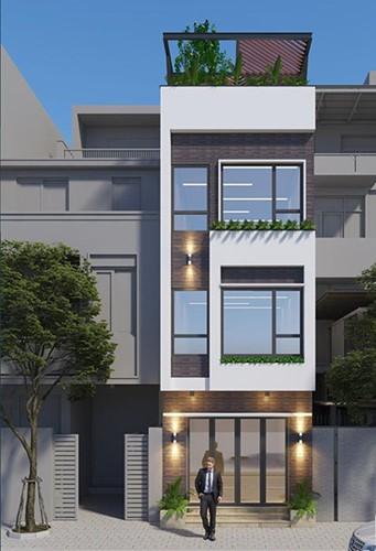 10 mẫu nhà phố 3 tầng 1 tum độc đáo nhất 2019 - Ảnh 3