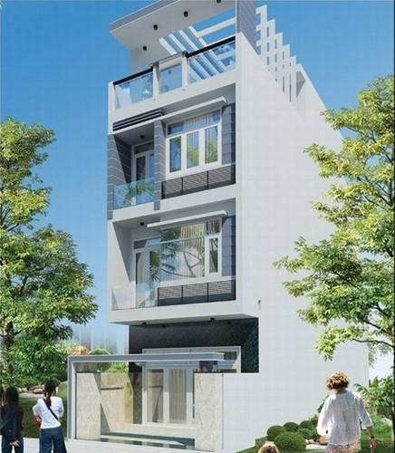 10 mẫu nhà phố 3 tầng 1 tum độc đáo nhất 2019 - Ảnh 5