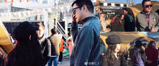 Sao Hoa ngữ bên gia đình ngày Tết, Huỳnh Hiểu Minh vẫn đóng phim - Ảnh 3