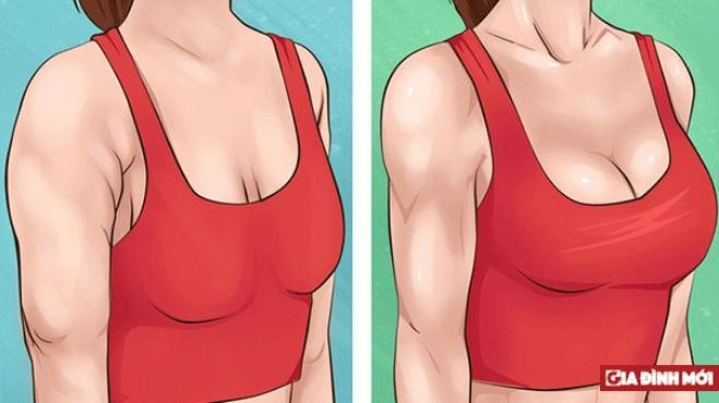 10 bài tập đơn giản giúp cánh tay và ngực săn chắc - Ảnh 1