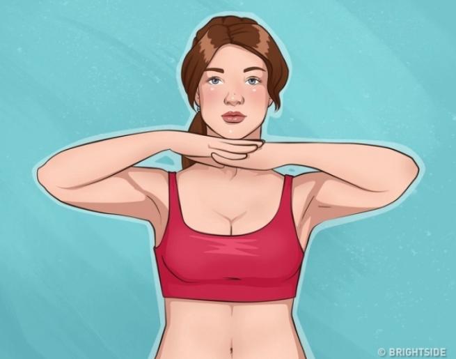 10 bài tập đơn giản giúp cánh tay và ngực săn chắc - Ảnh 11