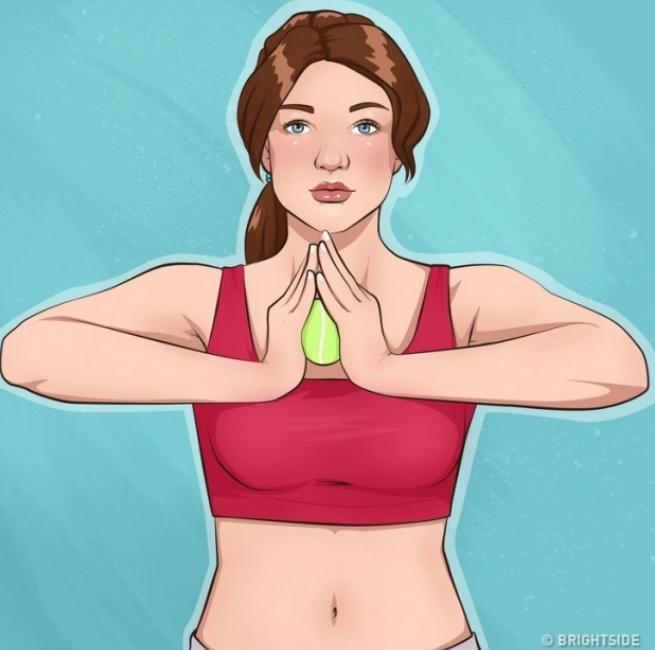 10 bài tập đơn giản giúp cánh tay và ngực săn chắc - Ảnh 5