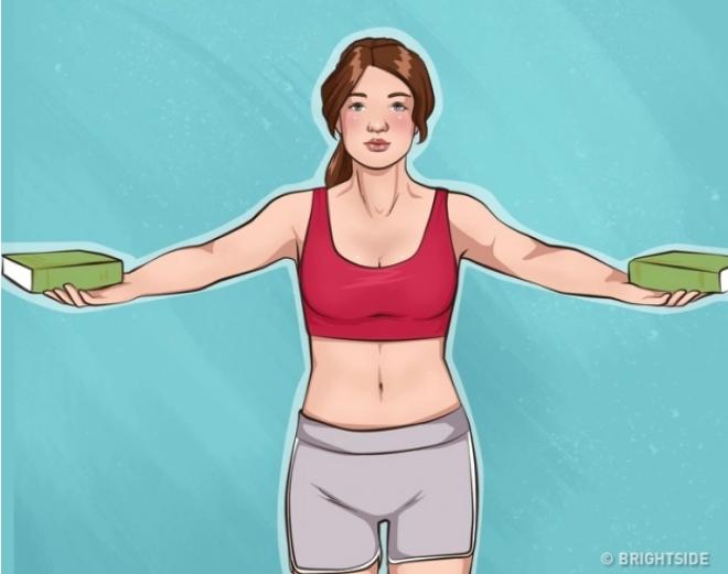 10 bài tập đơn giản giúp cánh tay và ngực săn chắc - Ảnh 6
