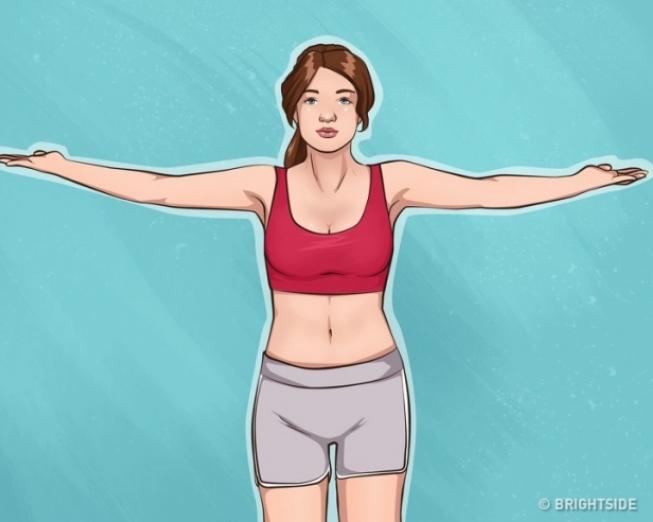 10 bài tập đơn giản giúp cánh tay và ngực săn chắc - Ảnh 8