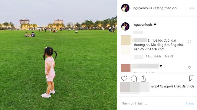 Khoảnh khắc 1 giây lộ gương mặt bầu bĩnh đáng yêu của con gái Tăng Thanh Hà - Ảnh 2