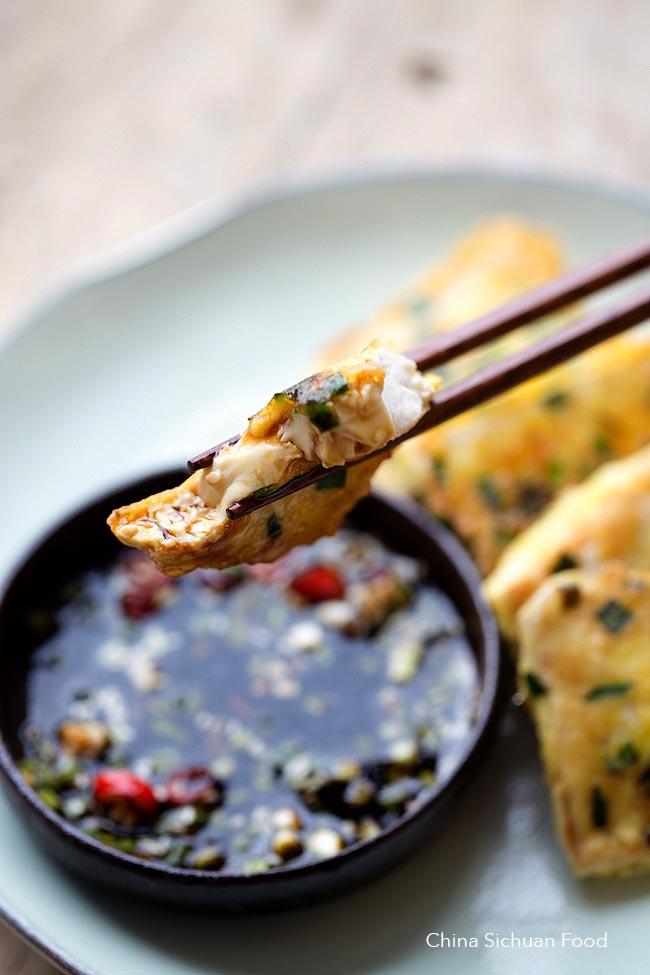 Thổi bay nồi cơm với món đậu phụ chiên trứng vừa giòn vừa mềm mịn - Ảnh 3