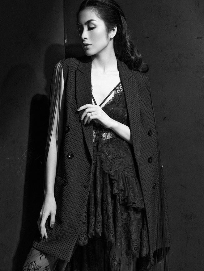 Diện váy ren sexy, Tăng Thanh Hà được khen nhan sắc đỉnh cao - Ảnh 1