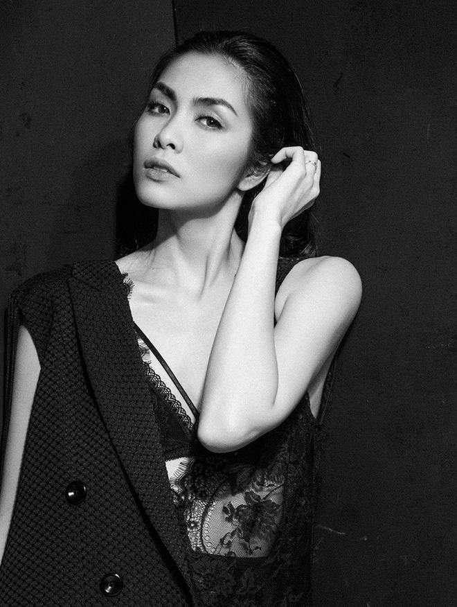 Diện váy ren sexy, Tăng Thanh Hà được khen nhan sắc đỉnh cao - Ảnh 3