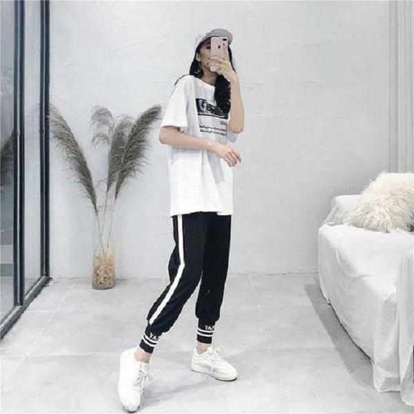 10 gợi ý diện áo phông trắng cực chất, mặc hoài không biết chán - Ảnh 7