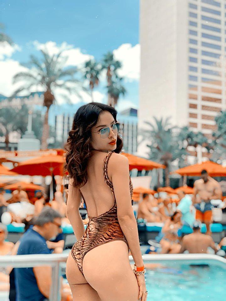 Chán khoe ngực, Phương Trinh Jolie lại 'đốt mắt' khán giả khi diện bikini khoét sâu ngay vùng nhạy cảm - Ảnh 7