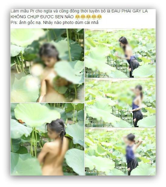 Nhiếp ảnh gia nói vụ cô gái khỏa thân ở hồ sen: Người chụp ảnh mới đáng trách? - Ảnh 4