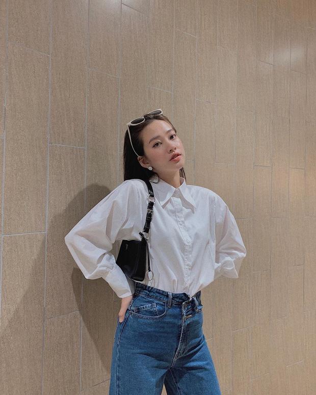 """Quần jeans cạp lệch """"gây lú"""" nhưng trendy: Đáng khen là hội gái Việt còn diện trước cả Lisa - Ảnh 4"""