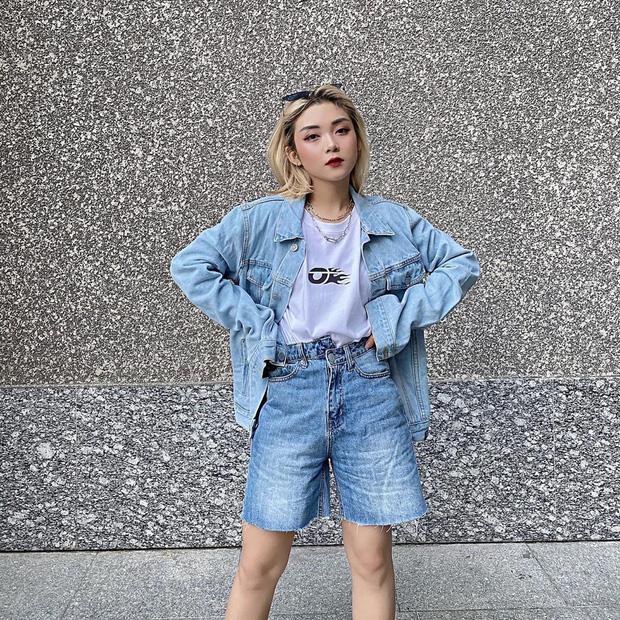 """Quần jeans cạp lệch """"gây lú"""" nhưng trendy: Đáng khen là hội gái Việt còn diện trước cả Lisa - Ảnh 6"""