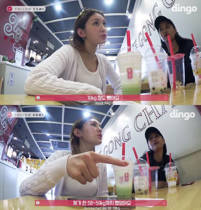 Somi từng mũm mĩm vì rất thích uống trà sữa, vậy mà nhờ 3 bí quyết đã giảm cân thần tốc ngay khi debut - Ảnh 3