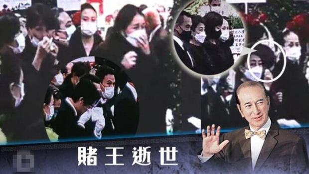 Diễn biến tang lễ trùm sòng bạc Macau: Vợ con khóc nức nở, bà Hai ngã bệnh nặng, ảnh hiếm của đại gia tộc được trình chiếu - Ảnh 12