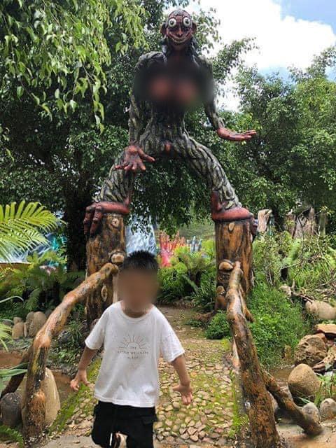 Khu du lịch mới khai trương ở Đà Lạt bị dân mạng 'ném đá' vì những bức tượng có tạo hình phản cảm, tục tĩu, không phù hợp với trẻ em - Ảnh 2