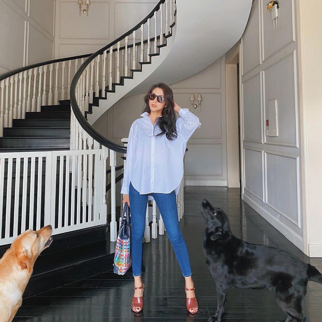 Từ chỗ bị chê tơi tả, nay Hà Tăng đã có thể tự tin diện skinny jeans khiến ai cũng phải trầm trồ - Ảnh 1