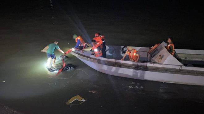 Xe ô tô lao xuống biển ở Hạ Long: Nạn nhân thứ 4 tử vong, nguyên nhân ban đầu vụ tai nạn - Ảnh 1