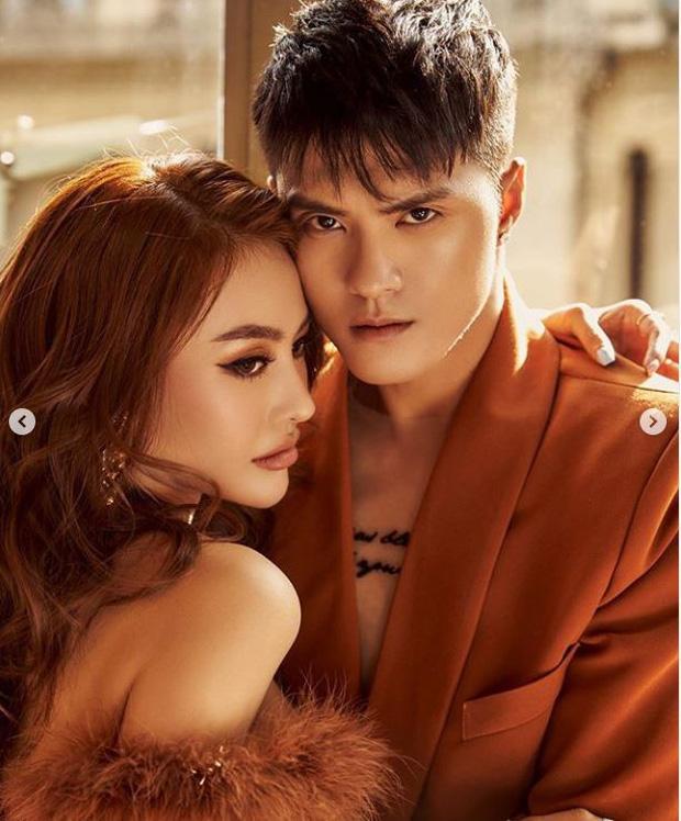 Linh Chi khoe vẻ quyến rũ, diện đồ tone-sur-tone đầy tình tứ bên chồng chưa cưới Lâm Vinh Hải - Ảnh 2