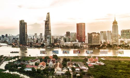 Giá đất TP HCM tăng gấp ba sau mỗi thập niên - Ảnh 1