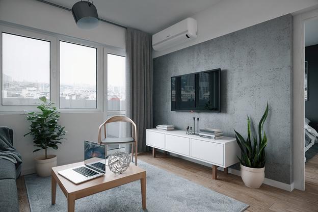 Ngắm nhìn căn hộ nhỏ gọn, tiện nghi và lịch lãm - Ảnh 4