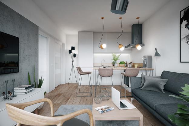 Ngắm nhìn căn hộ nhỏ gọn, tiện nghi và lịch lãm - Ảnh 5