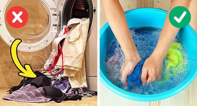 9 sai lầm khi giặt giũ khiến quần áo dù đắt tiền đến mấy cũng mau hỏng, dễ nhăn nheo và phai màu - Ảnh 3