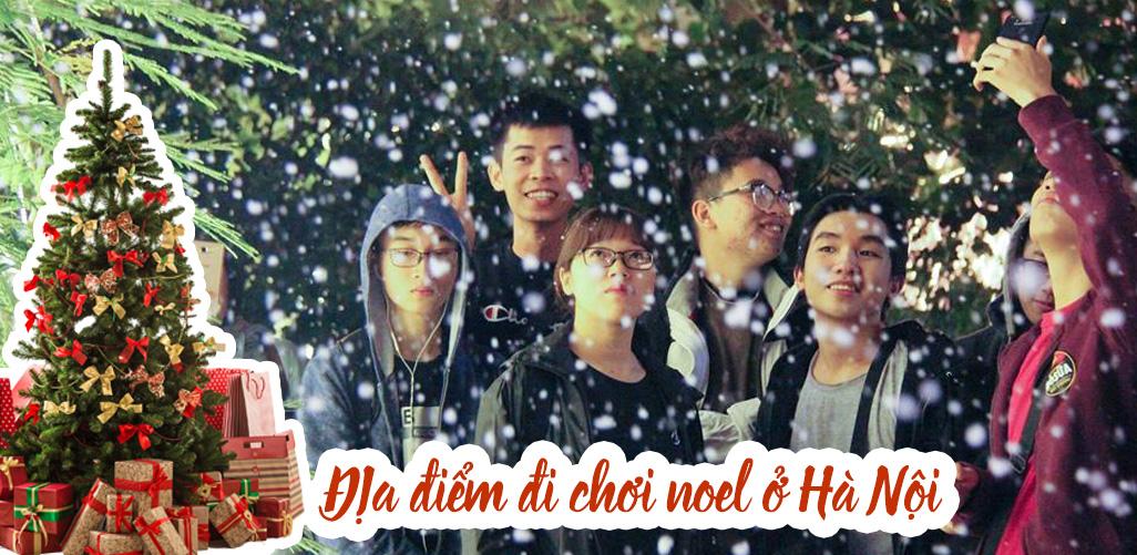 Địa điểm đi chơi Noel ở Hà Nội