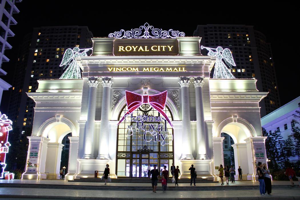 Royal City trang hoàng lỗng lẫy đón Giáng sinh
