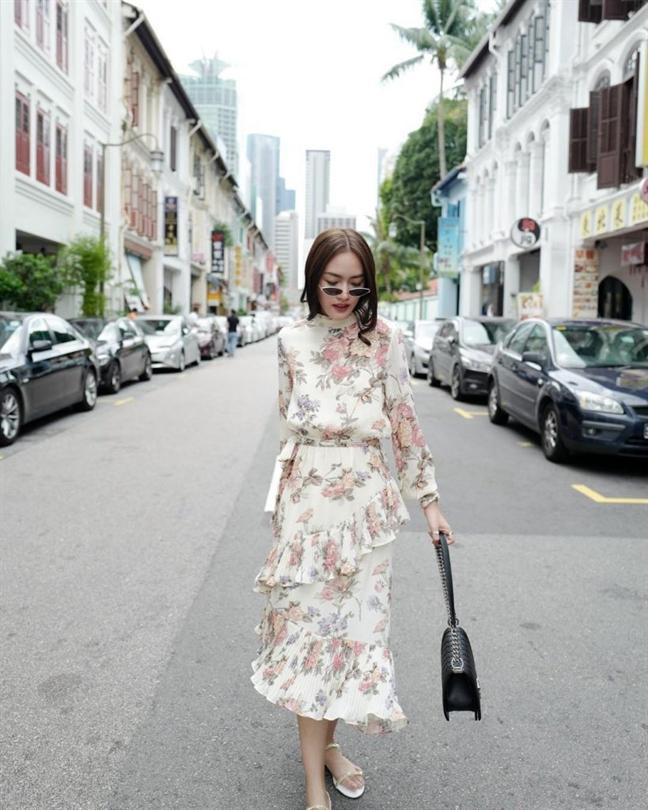 Muôn kiểu phối váy xếp tầng bồng bềnh cho nàng nữ tính - Ảnh 18