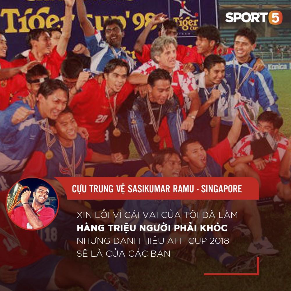 """Sasikumar: """"Xin lỗi vì đã làm hàng triệu người Việt Nam phải khóc, nhưng AFF Cup 2018 là của các bạn"""" - Ảnh 2"""