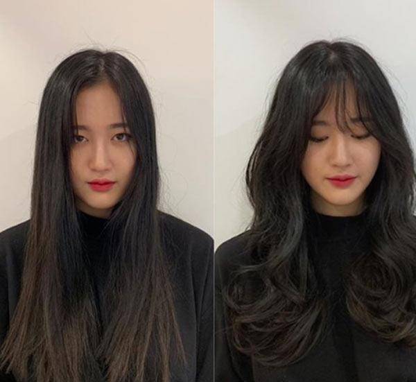 Đi đâu cũng thấy tóc ngắn, hãy làm bản thân nổi bật với kiểu tóc tỉa tầng, uốn xoăn bồng bềnh mà quý cô Hàn Quốc đang lăng xê này - Ảnh 1