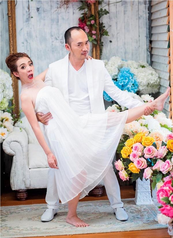 4 gia đình nghệ sĩ hài khiến cả Vbiz ghen tị vì hôn nhân như mơ - Ảnh 1