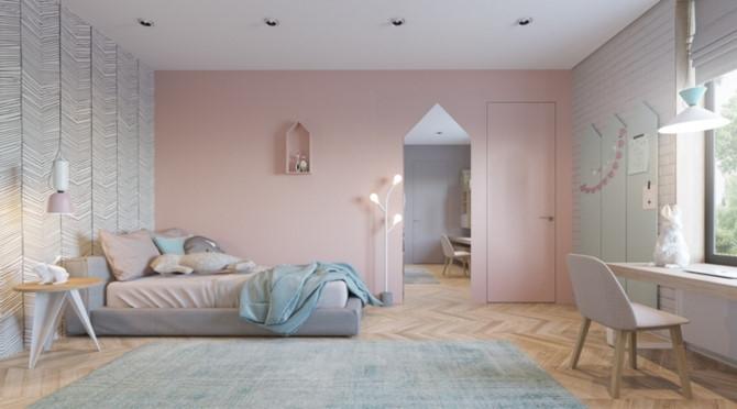 Cách phối mầu, trang trí phòng ngủ dễ thương cho trẻ - Ảnh 6